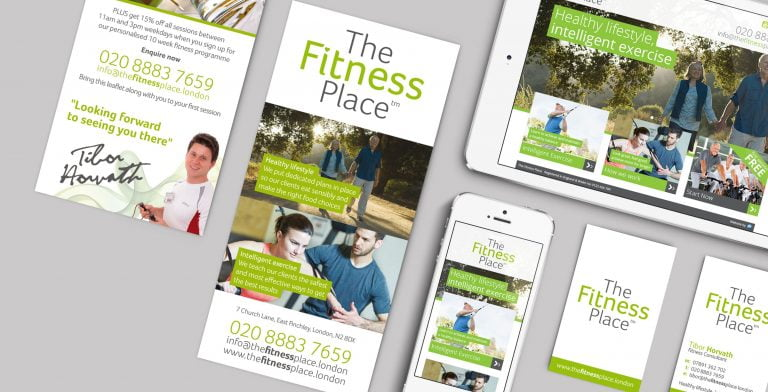 The Fitness Place Branding Stationery