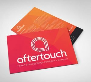 Aftertouch Branding Leaflet