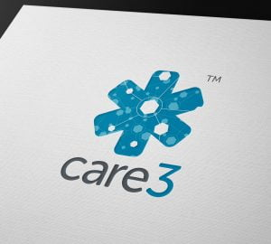 Care 3 Branding Logo Concept Design