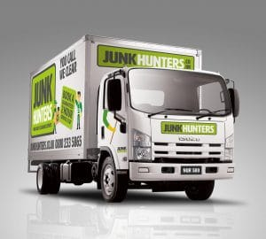 Junk Hunters Vehicle Wrap Branding