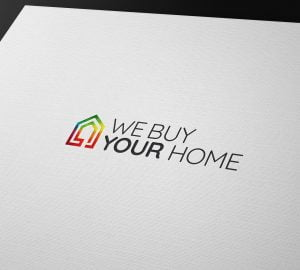 We Buy Your Home Branding Logo