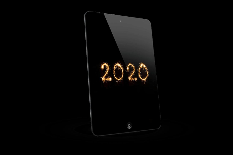 2020 iPad Left