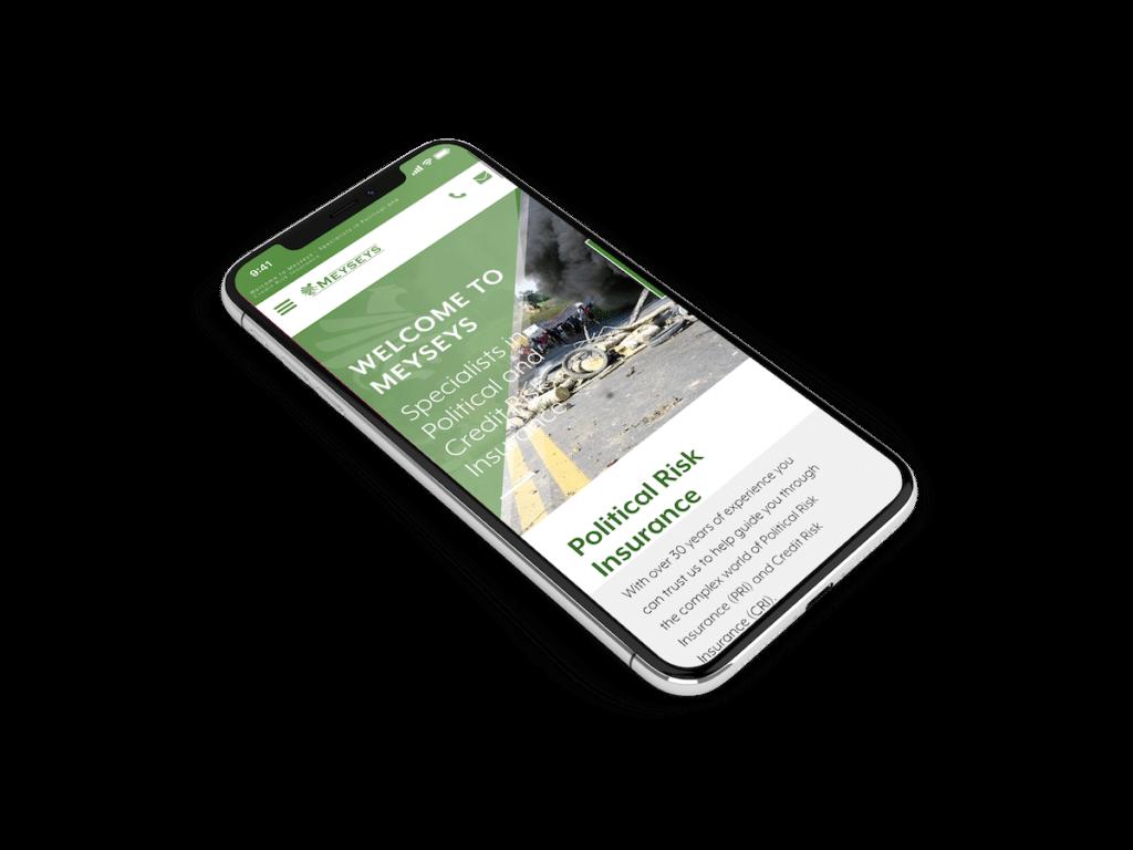 Meyseys Website Design for Insurance Companies