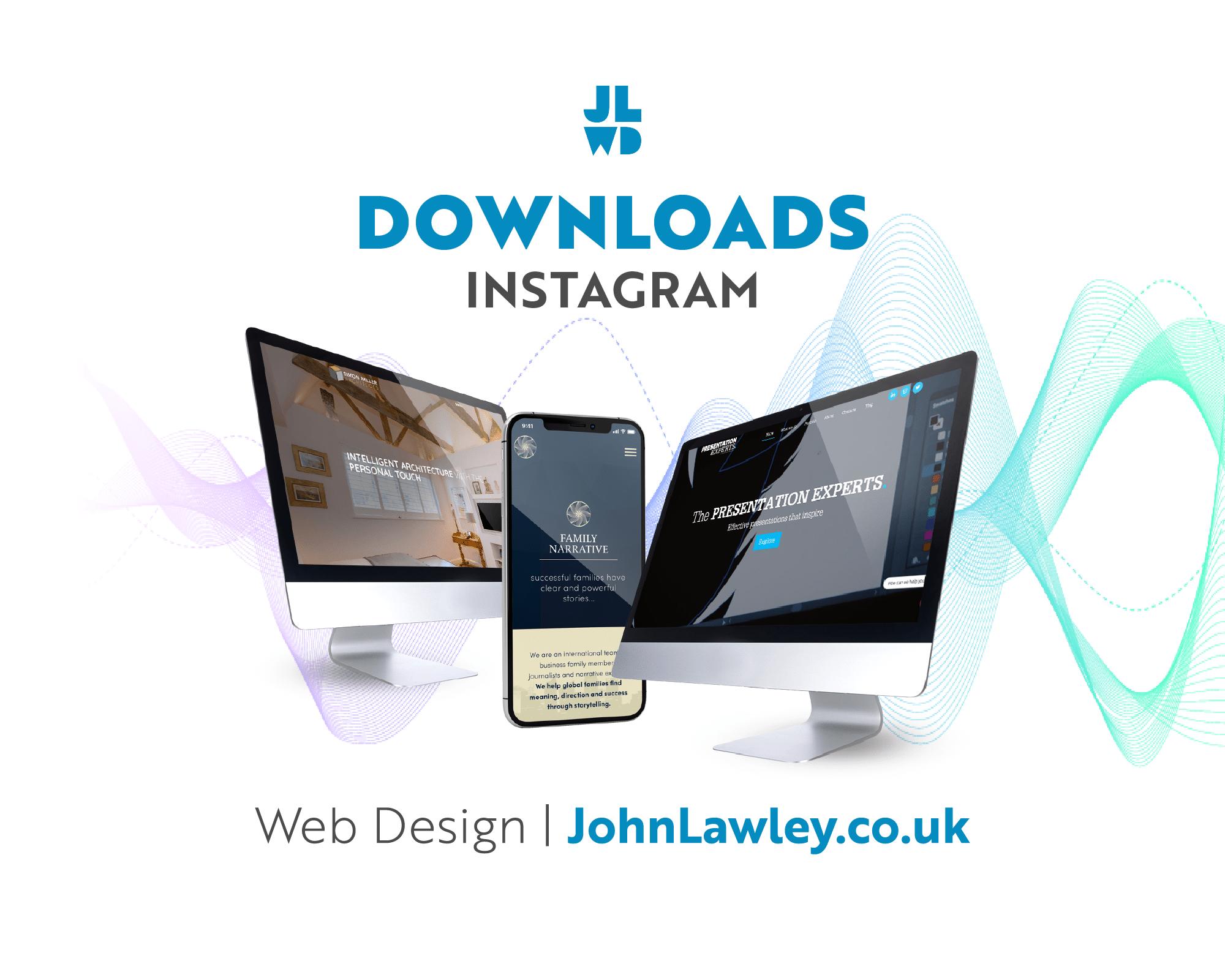 Web Design | Downloads | Instagram for Business
