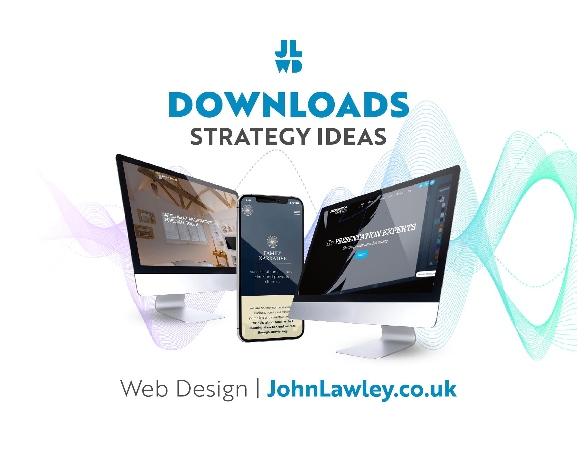 Web Design | Downloads | Strategy Ideas
