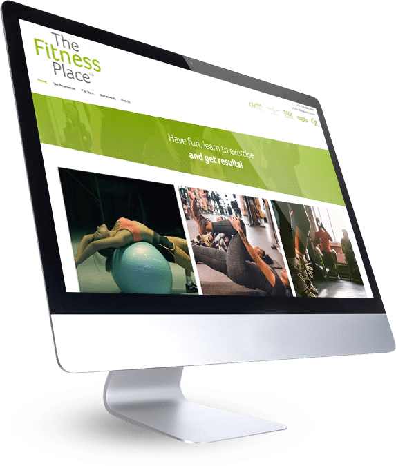 The Fitness Place Web Site