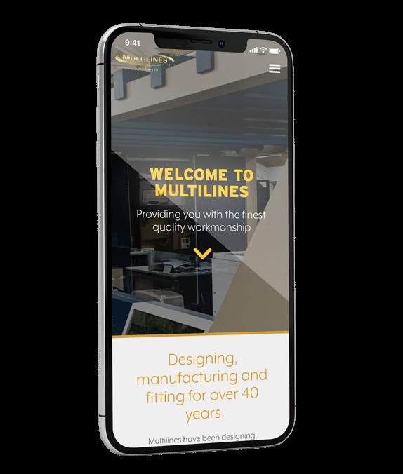 Multilines Website Design