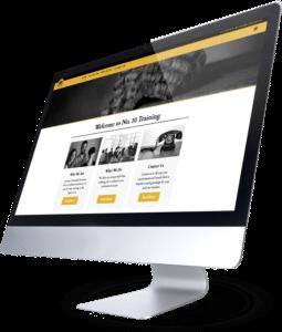 No 10 Training Website Design