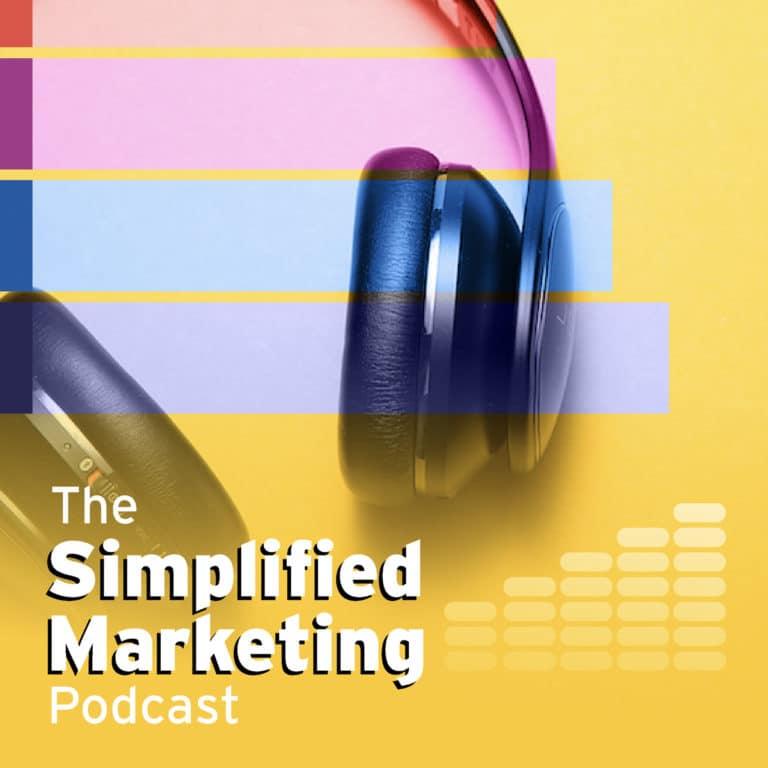 Simplified Marketing Podcast Logo