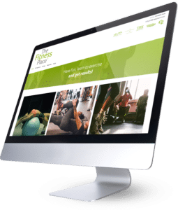 The Fitness Place Website Design